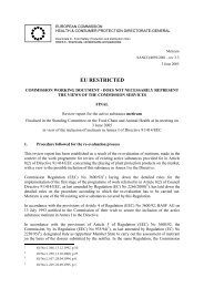 APPENDIX I - European Commission