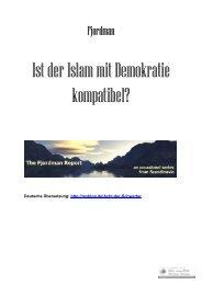 Ist der Islam mit Demokratie kompatibel? - Politically Incorrect
