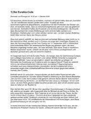 Der Eurabia-Code, Teil 1 von 4