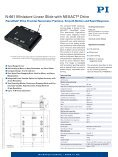 N664, Piezo-Motorized Nanopositioning Stage with Nanometer ... - Page 3