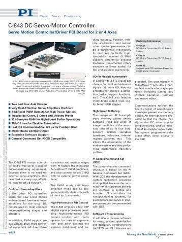 Download - PI (Physik Instrumente)