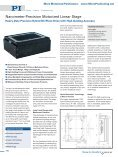 M413 · M414 Motorized Precision Linear Positioner Stage, High ... - Page 5