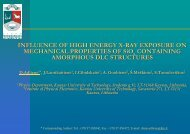 INFLUENCE OF HIGH ENERGY X-RAY EXPOSURE ON ... - PI4