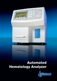 Automated Hematology Analyzer - Diatron