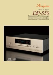 el el ) sll Hochwertiges SA-CD/CD-Laufwerk MDS+ D/A ... - Accuphase