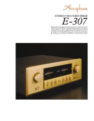 E-307 - Accuphase