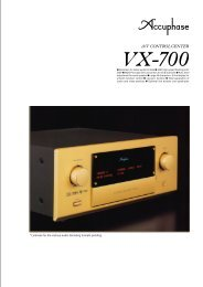 VX-700 - Accuphase