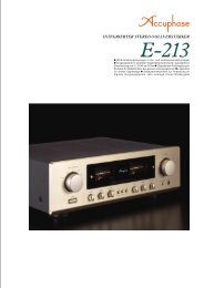 E-213 - Accuphase