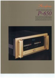 P-650 - Accuphase