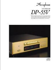 CD-SPIELER - Accuphase