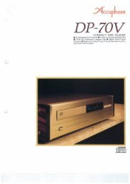 DP-70v - Accuphase