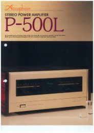 P-500L - Accuphase
