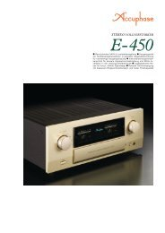 E-450 - Accuphase