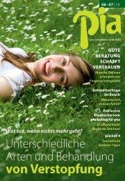 Ausgabe 06/07 lesen! - pia - kolleg für pta