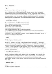 HP203 Info.pages - Pianohaus Hamann