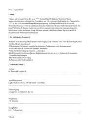 FP-4 Info.pages - Pianohaus Hamann