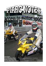 April 2006 Edition - Phillip Island Auto Racing Club