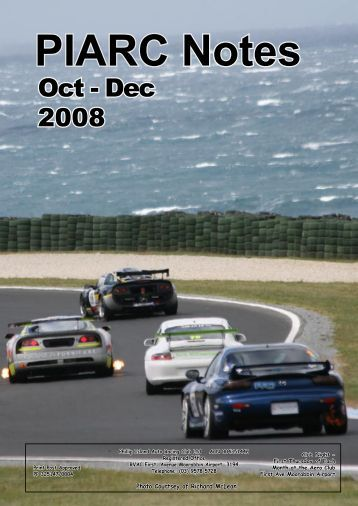 Oct - Nov Mag 08 fp fullA4 - Phillip Island Auto Racing Club