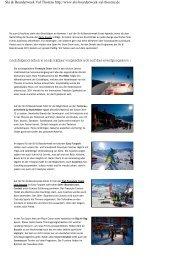 Ski&Boarderweek in Val Thorens - Pia und Dirk