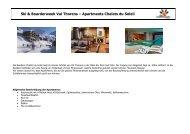 Ski & Boarderweek Val Thorens – Apartments Chalets ... - Pia und Dirk