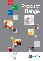 Product Range - Espresso Cafe