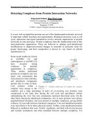 Detecting Complexes from Protein Interaction Networks - PICB