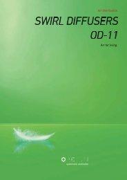 Swirl diffusers OD11 - Pichler