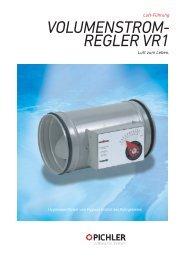 Technische Daten VR1 - Pichler