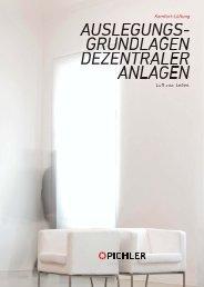 Auslegungsgrundlagen - Pichler