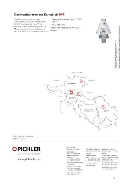 Dachventilatoren - Pichler