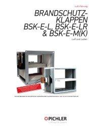 BSK-E, eckige Ausführung - Pichler