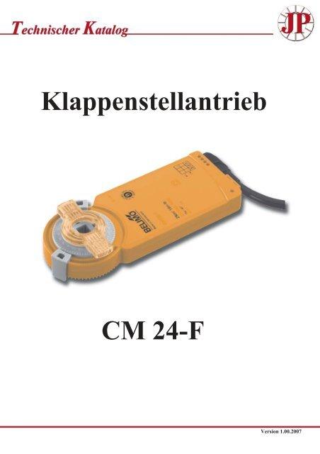 Klappenstellantrieb CM 24-F - Pichler