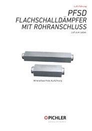 Technische Daten PFSD - Pichler