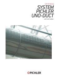 Uno Duct Zuluftdüsensystem - Pichler