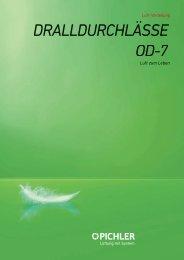 Drallluftdurchlässe OD7 - Pichler