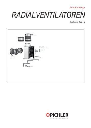 Technische Daten KBT, KBR - Pichler