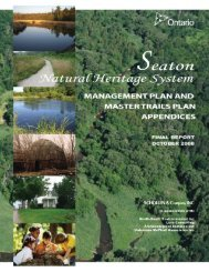 Seaton Natural Heritage System Management ... - City of Pickering