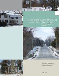 Seaton Neighbourhood Planning - City of Pickering