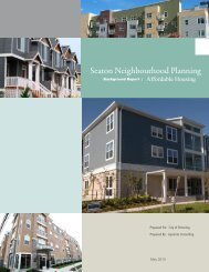 Seaton Neighbourhood Planning - City of Pickering
