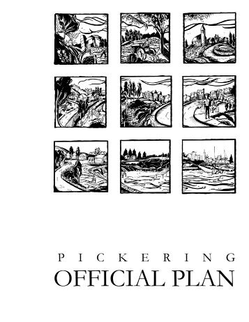 City of Pickering Official Plan- Edition 6