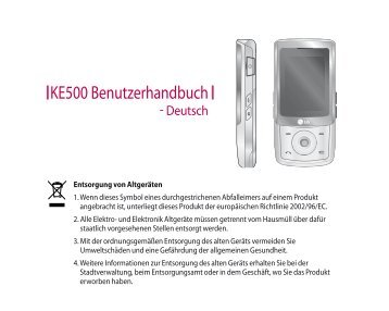 KE500 Benutzerhandbuch