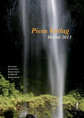 Herbst 2013 - Picus Verlag
