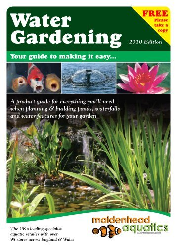Water Gardening Made Easy - Maidenhead Aquatics