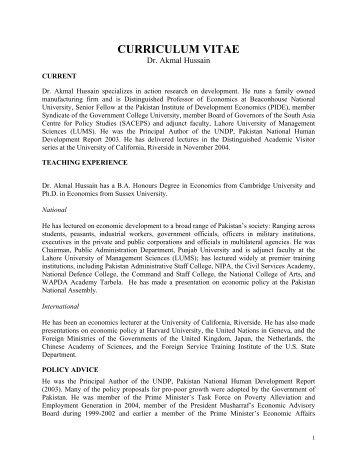Economic Development Pakistan Essay