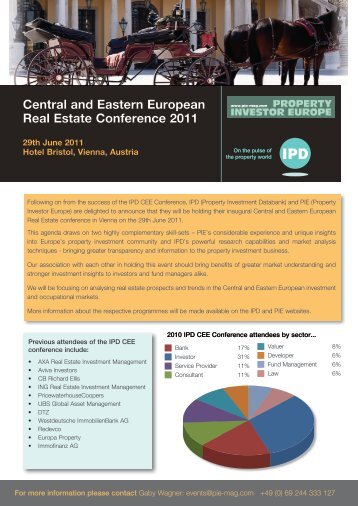 Central and Eastern European Real Estate Conference 2011