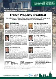 French property Breakfast - Property Investor Europe