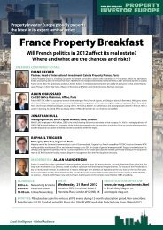 France Property Breakfast - Property Investor Europe