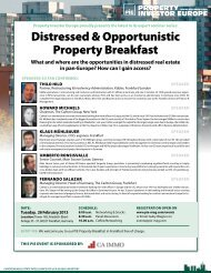 Distressed & Opportunistic property Breakfast - Property Investor ...