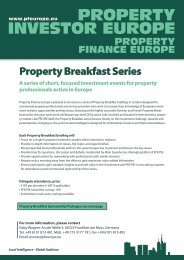 Property Breakfast Series - Property Investor Europe