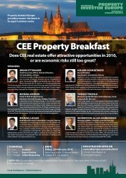 CEE Property Breakfast - Property Investor Europe